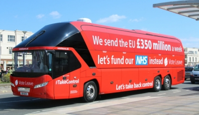 Vote Leave £350m bus