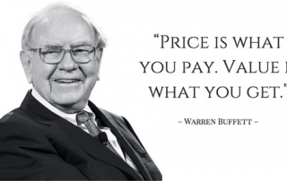 Warren Buffett defines value investment