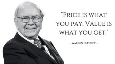 Warren Buffett defines value investment